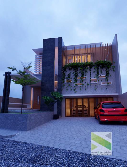 Rumah Tinggal Di Jogjakarta nonno+associates Rumah Tropis Grey