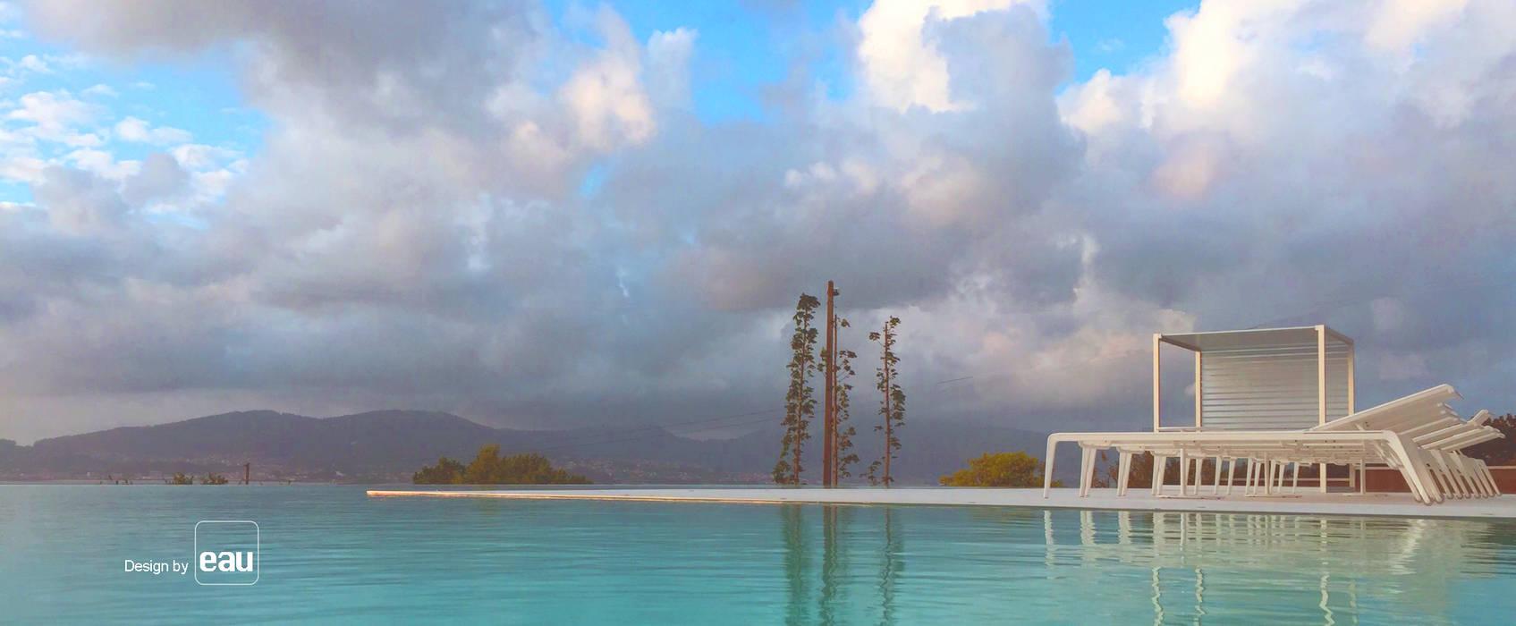 Casa alcabre piscinas de estilo de eau arquitectura s l p - Eau arquitectura ...