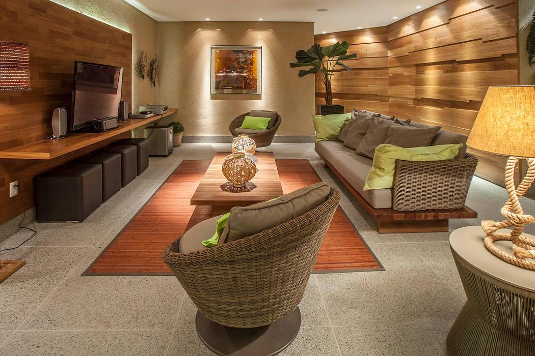fatto arquitetura Modern living room