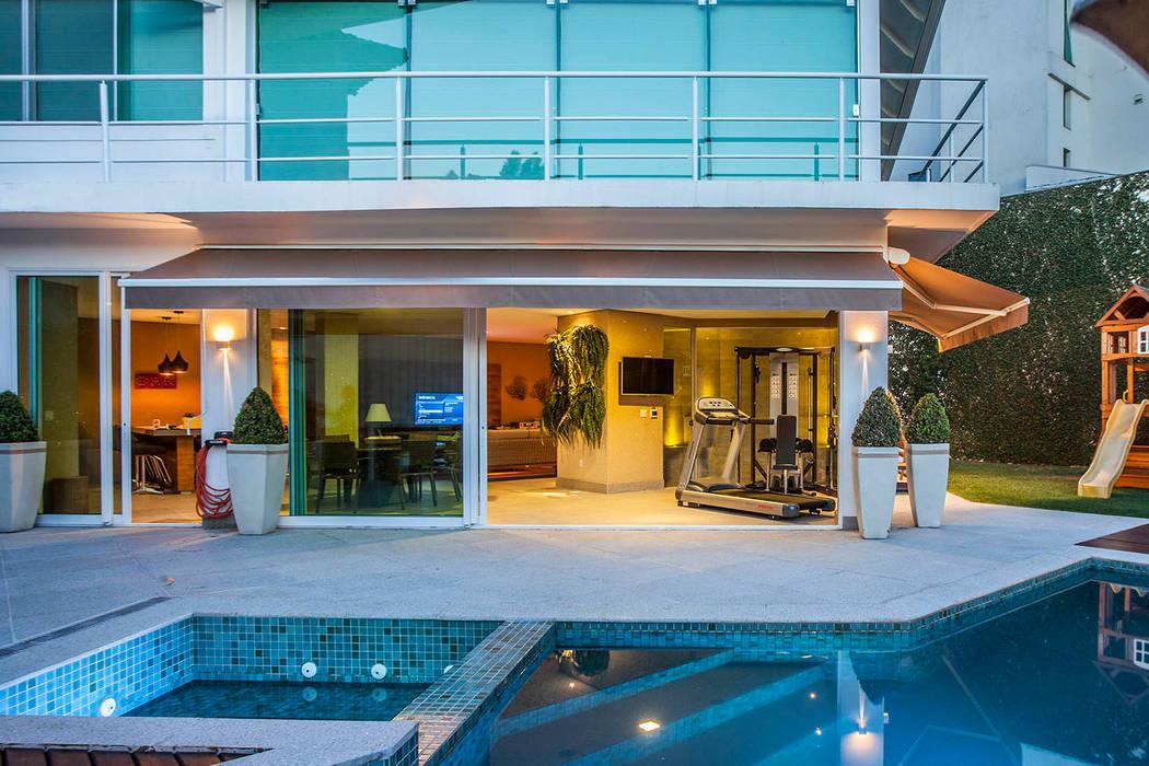 Residência VV fatto arquitetura Casas modernas