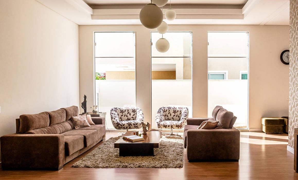 Гостиная в . Автор – Aresto Arquitetura