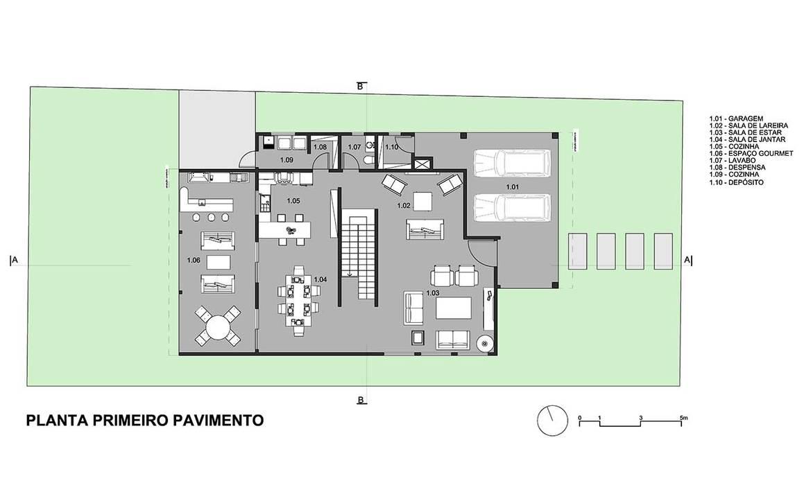ทันสมัย  โดย Aresto Arquitetura, โมเดิร์น