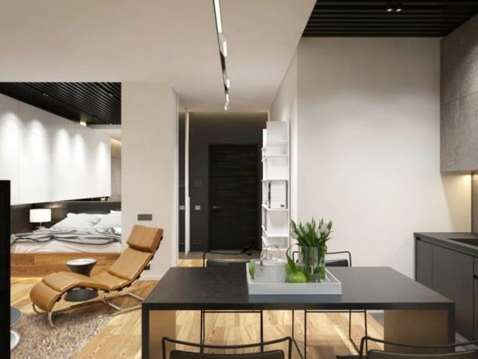 Quarry Bay Residential:  Dining room by CLOUD9 DESIGN