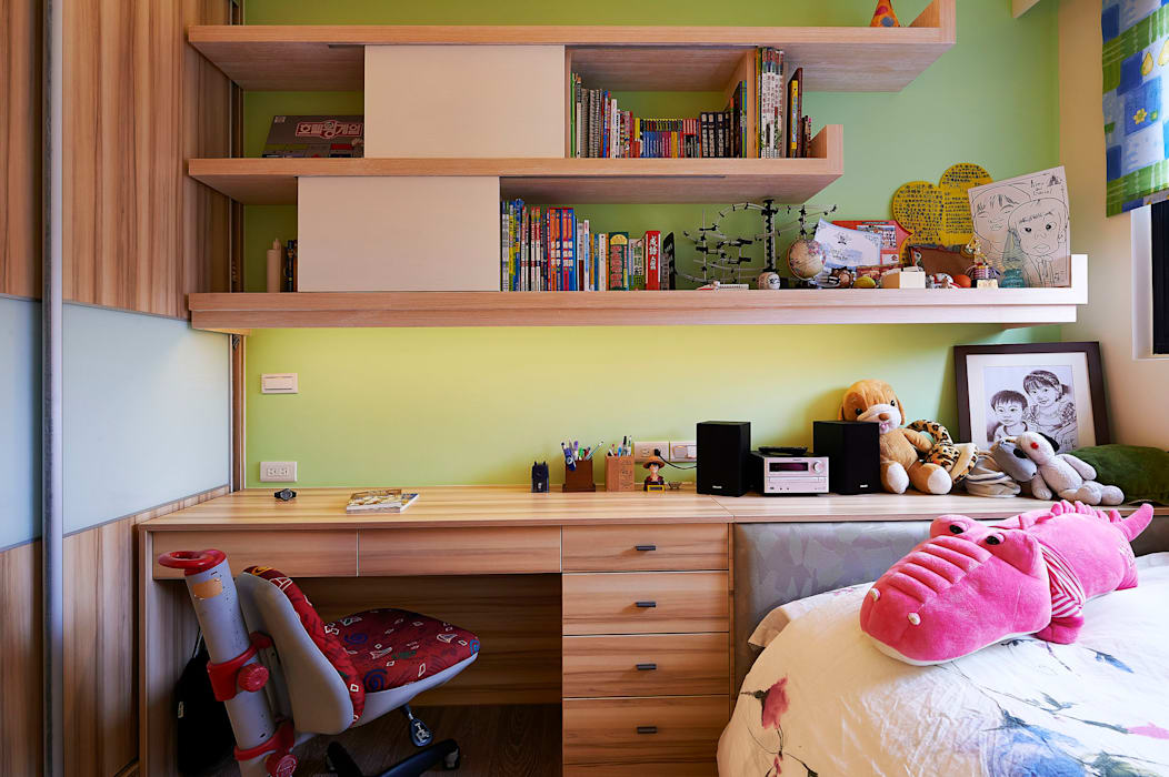 Nursery/kid's room by 舍子美學設計有限公司,