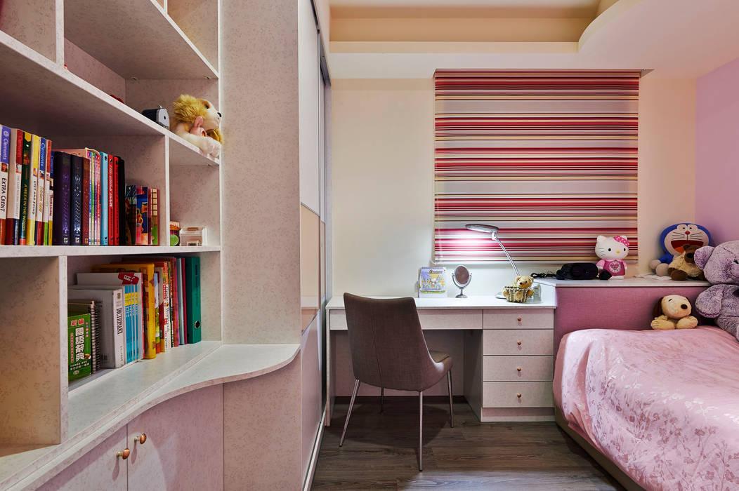Dormitorios infantiles rurales de 舍子美學設計有限公司 Rural