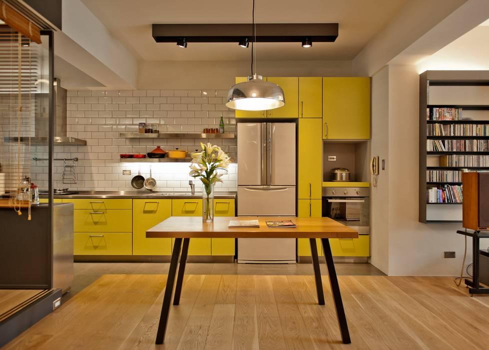 Cuisine minimaliste par 直方設計有限公司 Minimaliste