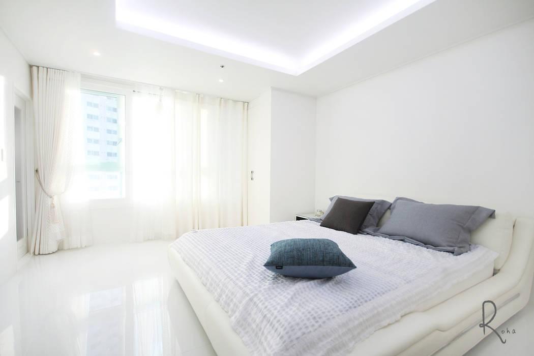로하디자인 Mediterranean style bedroom