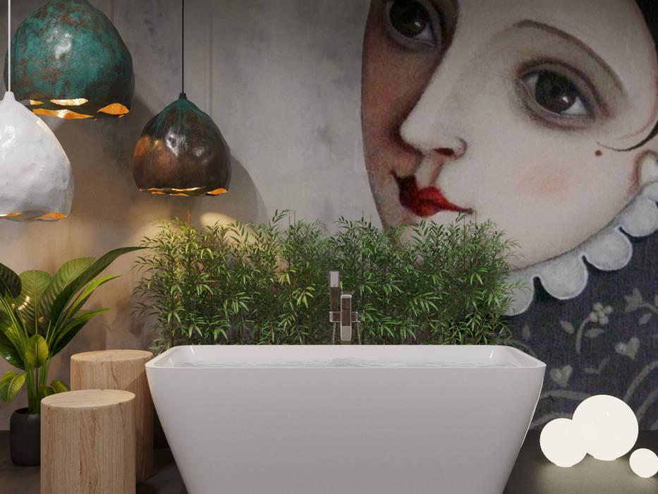 ГАРНО: Ванные комнаты в . Автор – ДОМ СОЛНЦА