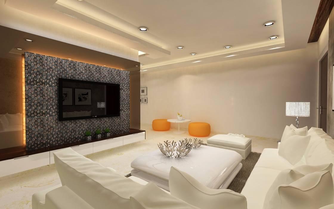Living Room by A Design Studio Modern MDF