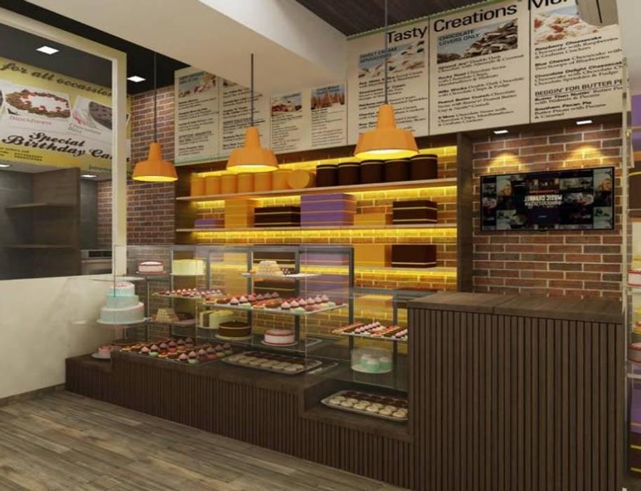 Cake Shop by A Design Studio Modern Bricks