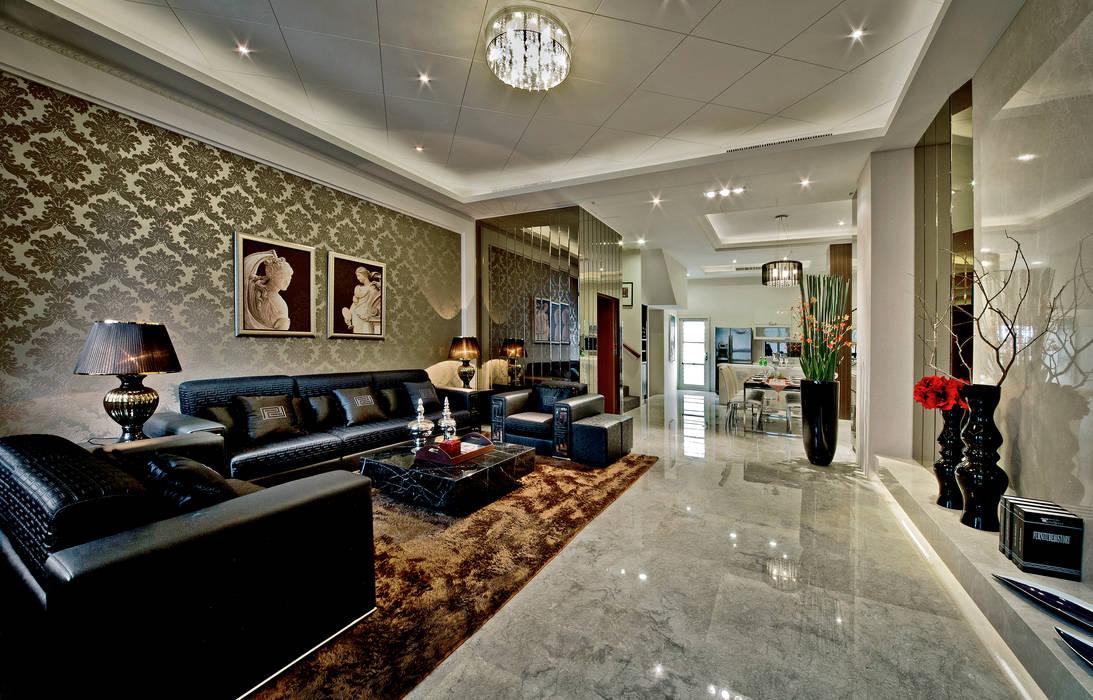Nhà phong cách châu Á bởi 禾御建築室內設計有限公司 Châu Á