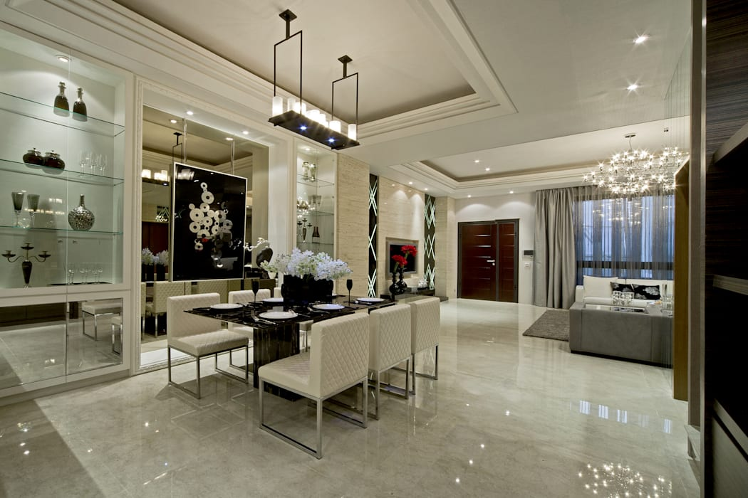 Dining room by 禾御建築室內設計有限公司