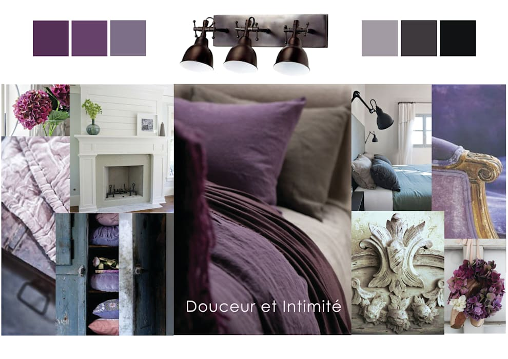 Chambre \'campagne chic\': chambre de style par premières ...