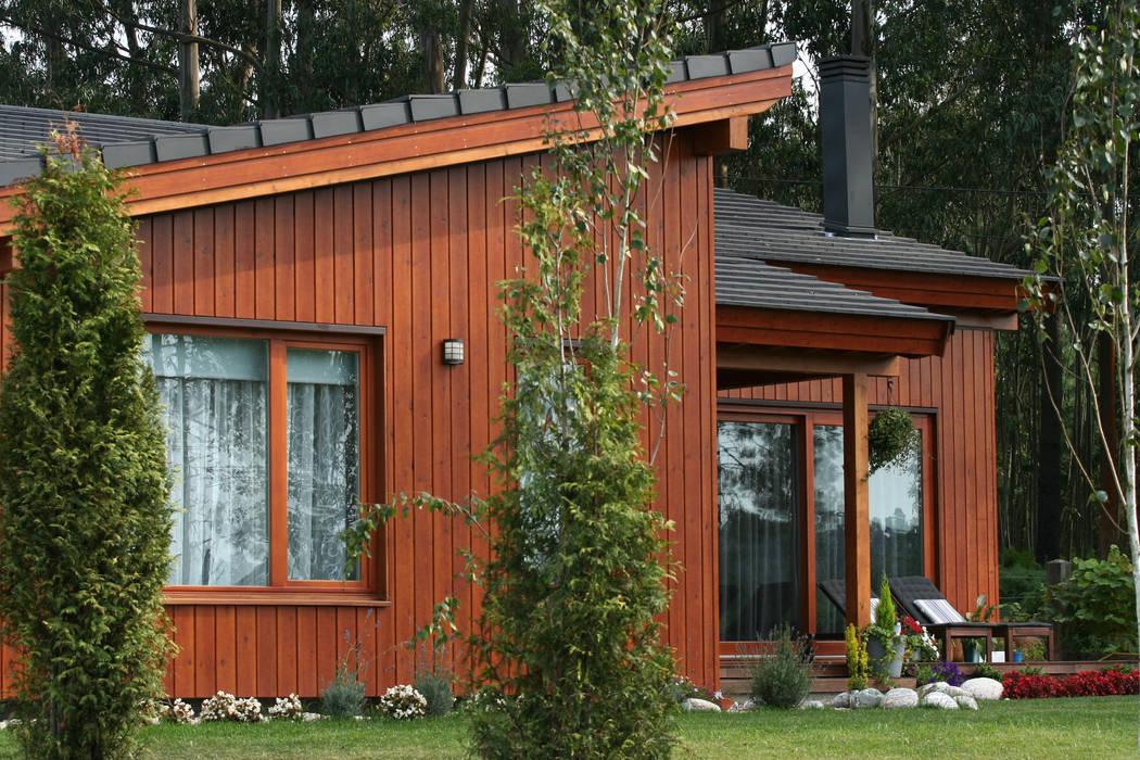 Wooden houses by Rusticasa, Scandinavian Wood Wood effect
