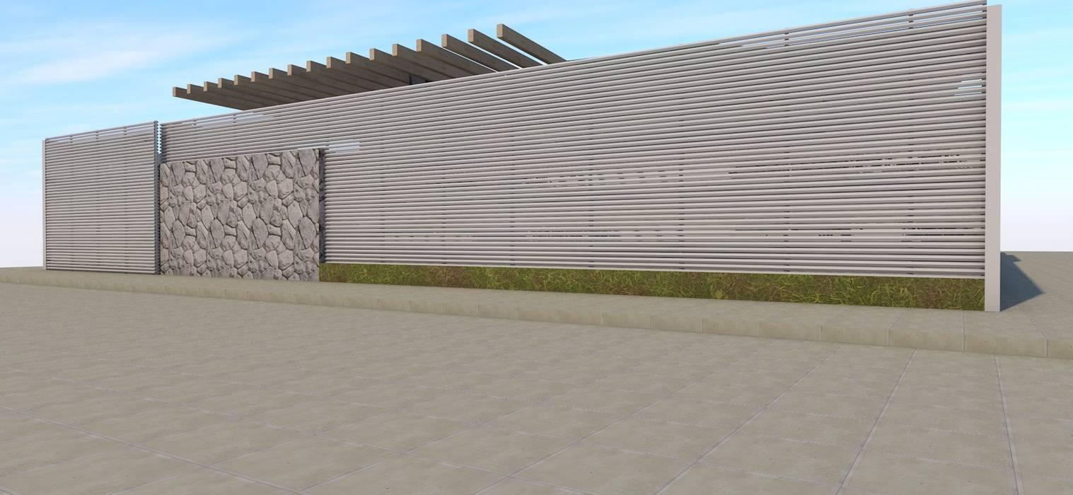 CASA MENICHETTI ORTEGA: Casas de estilo  por Dušan Marinković - Arquitectura