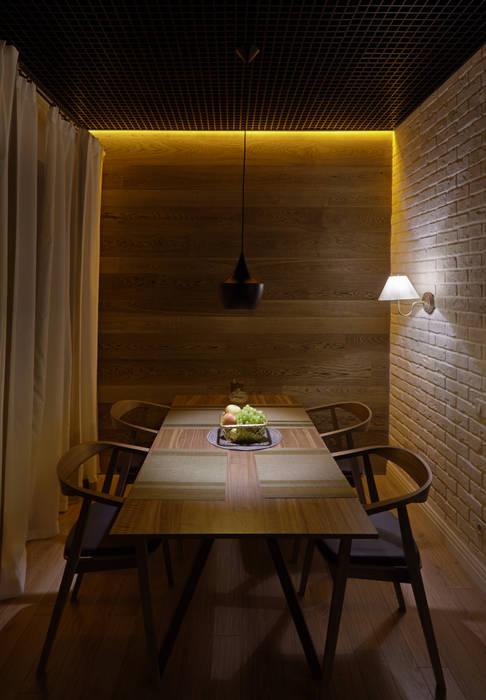 NOVORIGSKY МОСКВА частный дом: Столовые комнаты в . Автор – Gordon-design,