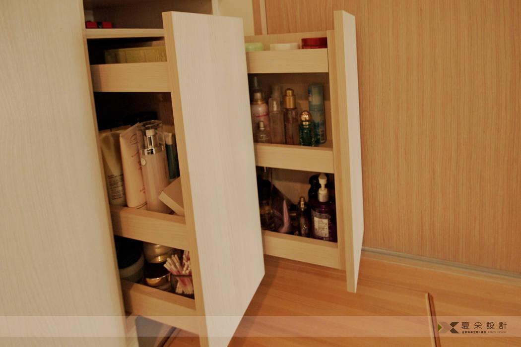 化妝品收納活動抽:  更衣室 by 寬森空間設計