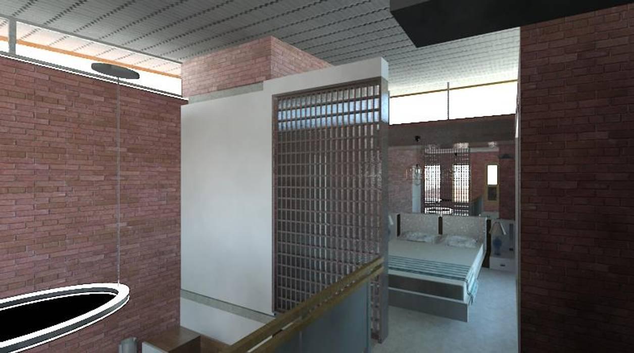 Dormitorios de estilo moderno de Arquitetura Ecológica Moderno