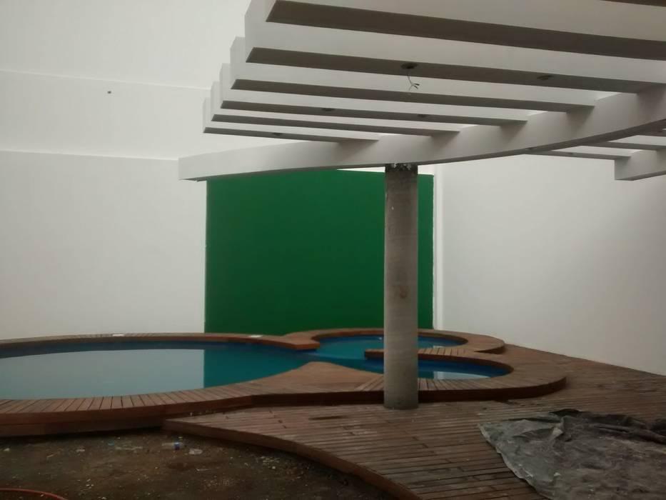 Patios & Decks by Mevisa Construcciones, Modern