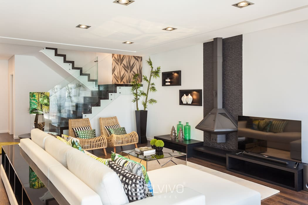 Living room by homify, Mediterranean