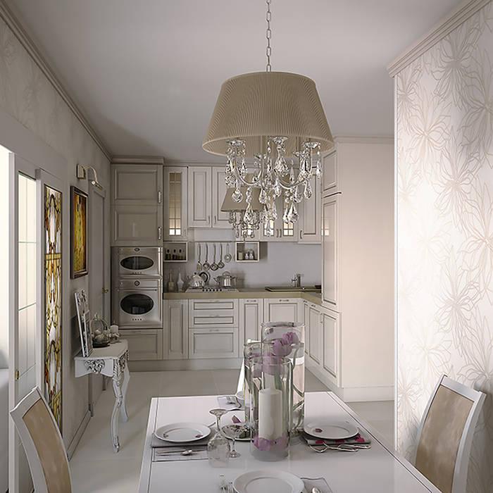 Интерьерное решение зоны кухни: Кухни в . Автор – dp_interior