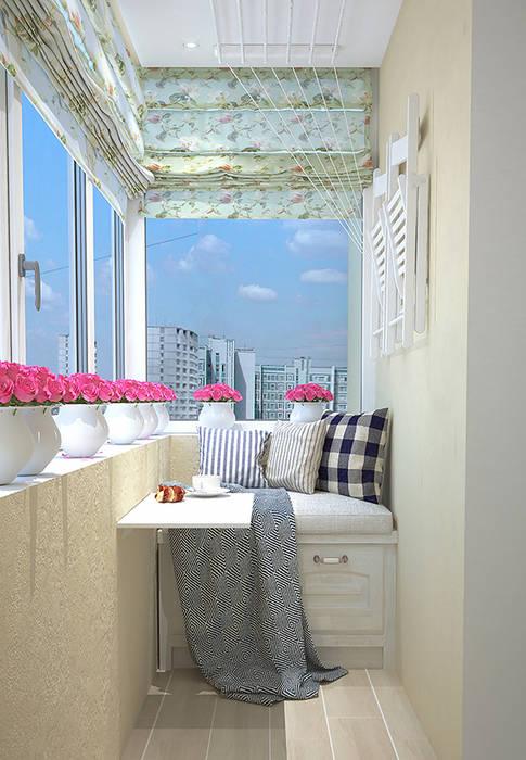 Интерьерное решение балкона: Tерраса в . Автор – dp_interior