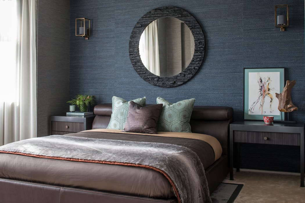 Broad Walk Guest Bedroom:  Bedroom by Roselind Wilson Design