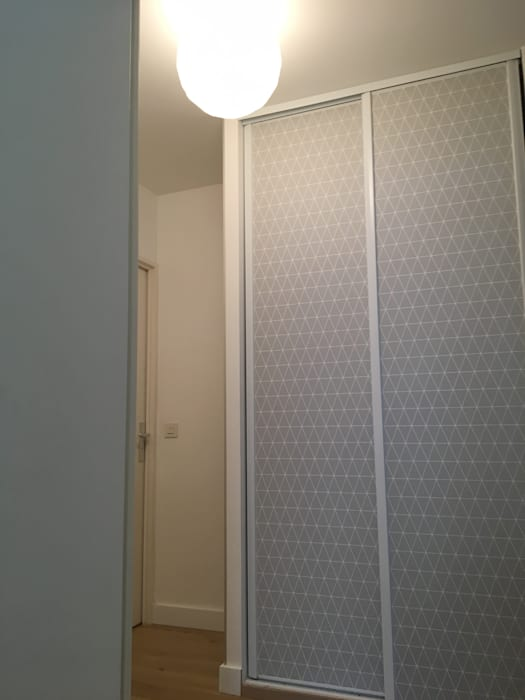 Appartement à versailles couloir, entrée, escaliers modernes ...