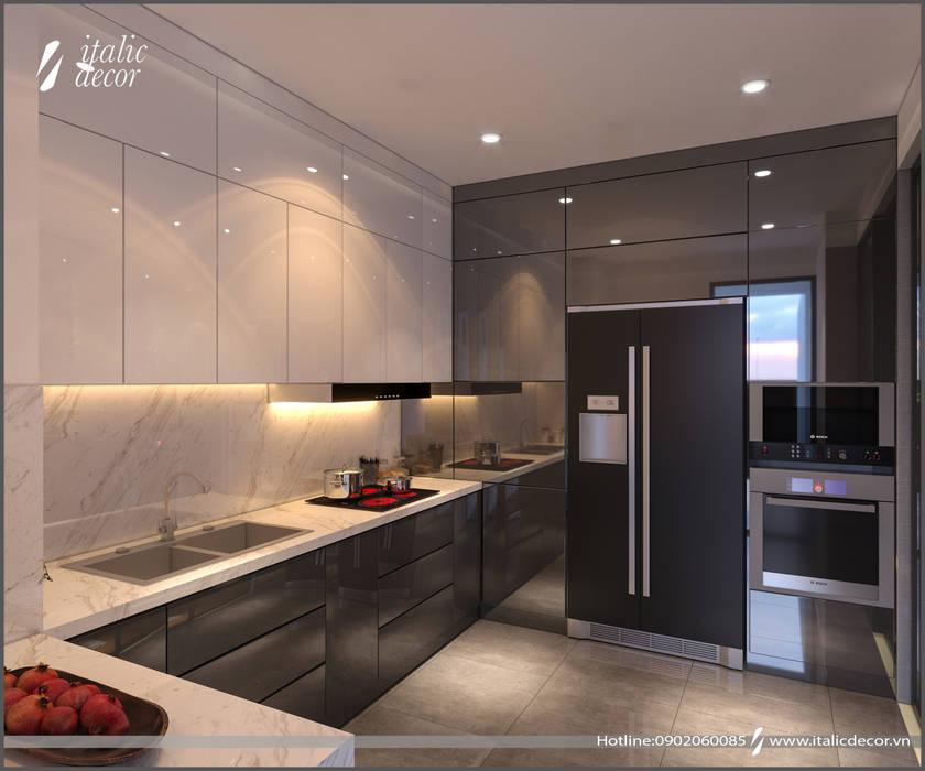 CĂN HỘ PARAGON:  Nhà bếp by ITALIC DECOR