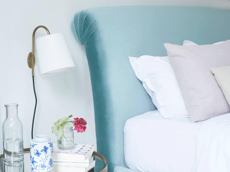 Head Jog in vintage-y brass Loaf BedroomLighting