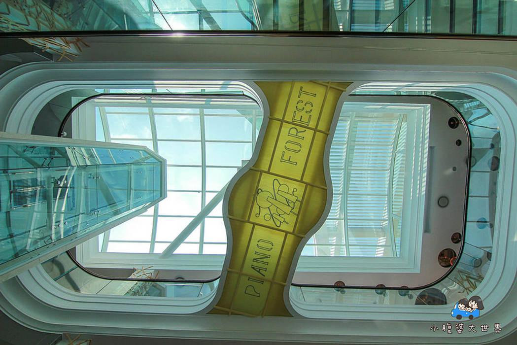 琴森林主燈:  餐廳 by 植建築 鉅凱建築師事務所/原果室內創研設計