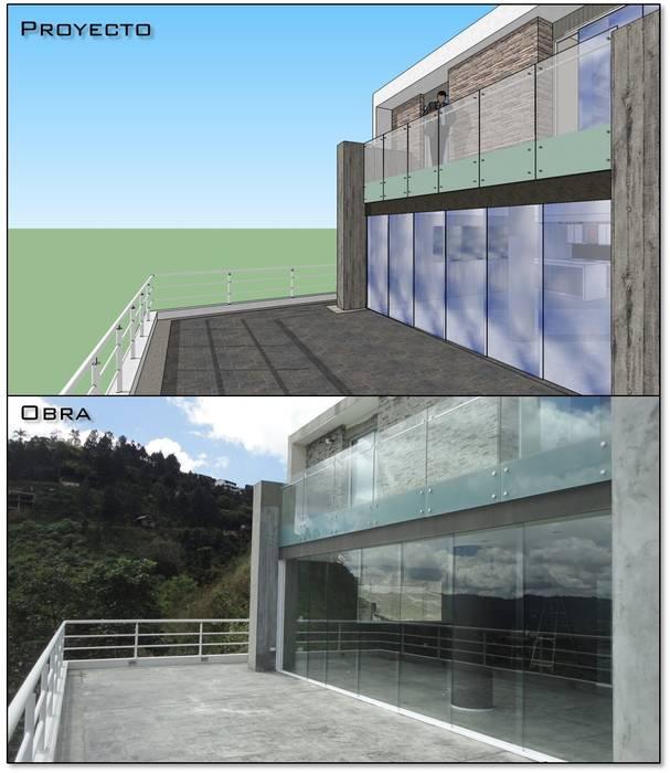 Terraza Posterior Proyecto Y Obra Casas De Estilo