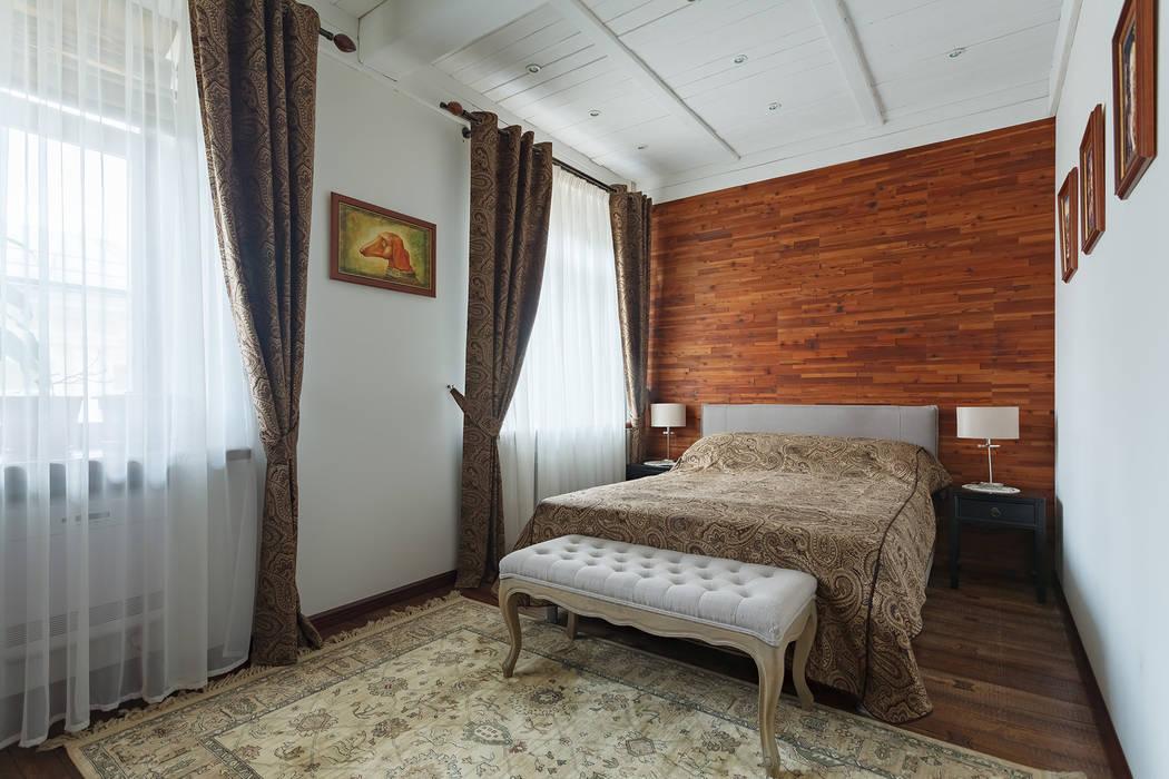 Спальня в московской квартире в стиле гранж.: Спальни в . Автор – Станислав Старых