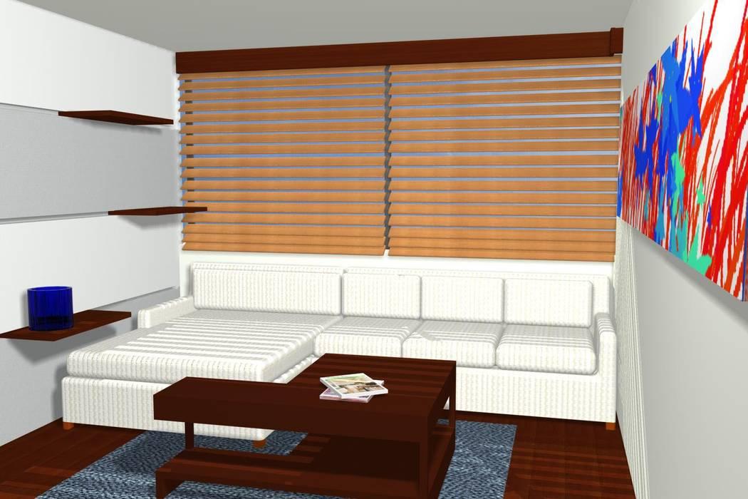 Apartamento Lamus de Kraus Castro Interior design Moderno