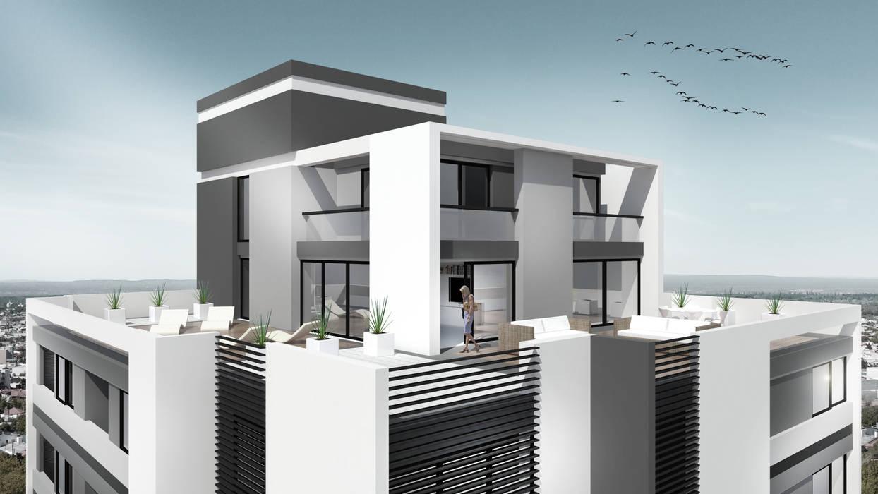 Edificio Aguila Iv Balcones Y Terrazas Modernos Ideas