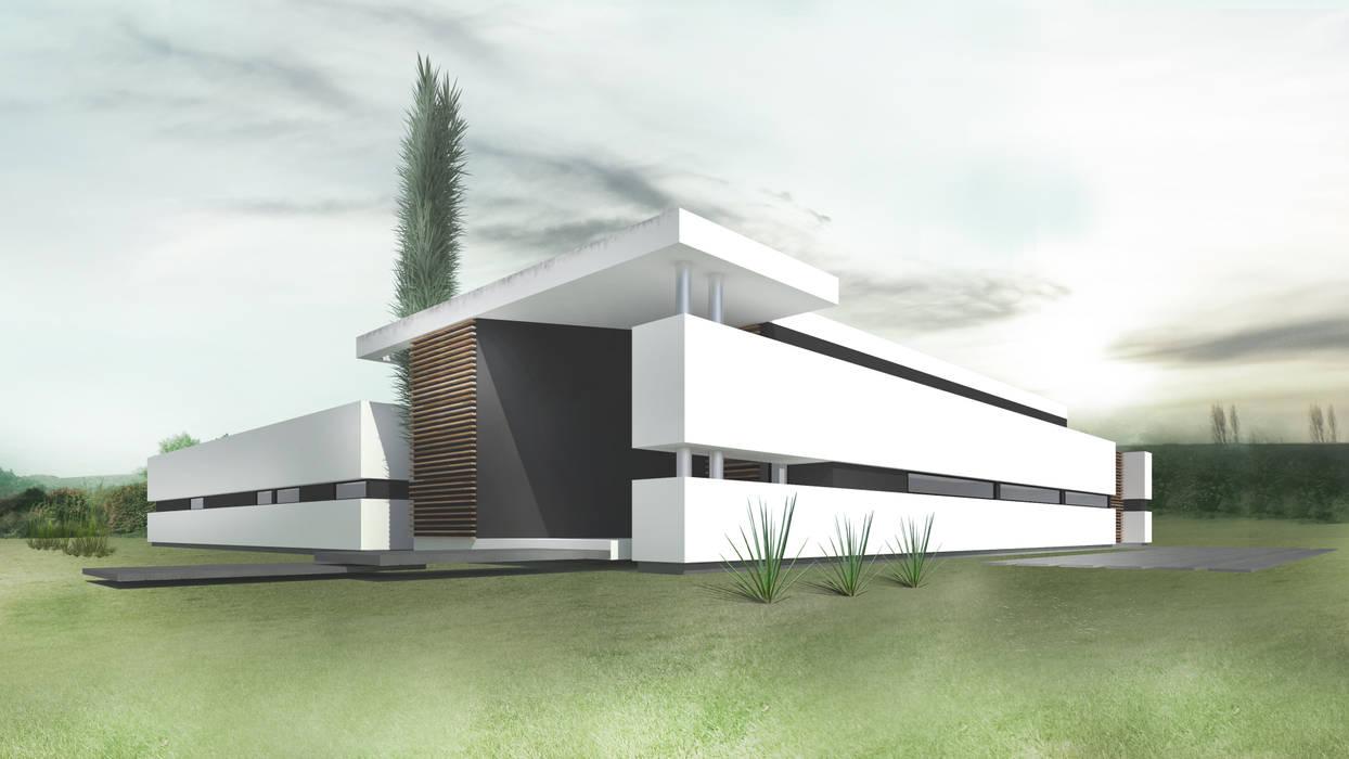 CASA KOSMAN Dormitorios modernos: Ideas, imágenes y decoración de Proa Arquitectura Moderno