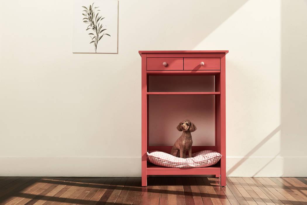 现代客厅設計點子、靈感 & 圖片 根據 TWOINPLACE 現代風
