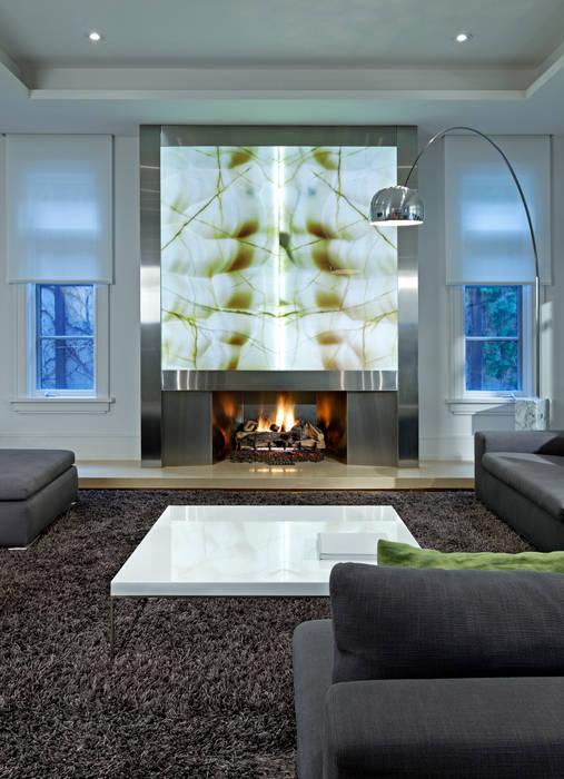 Salas / recibidores de estilo  por Douglas Design Studio, Moderno
