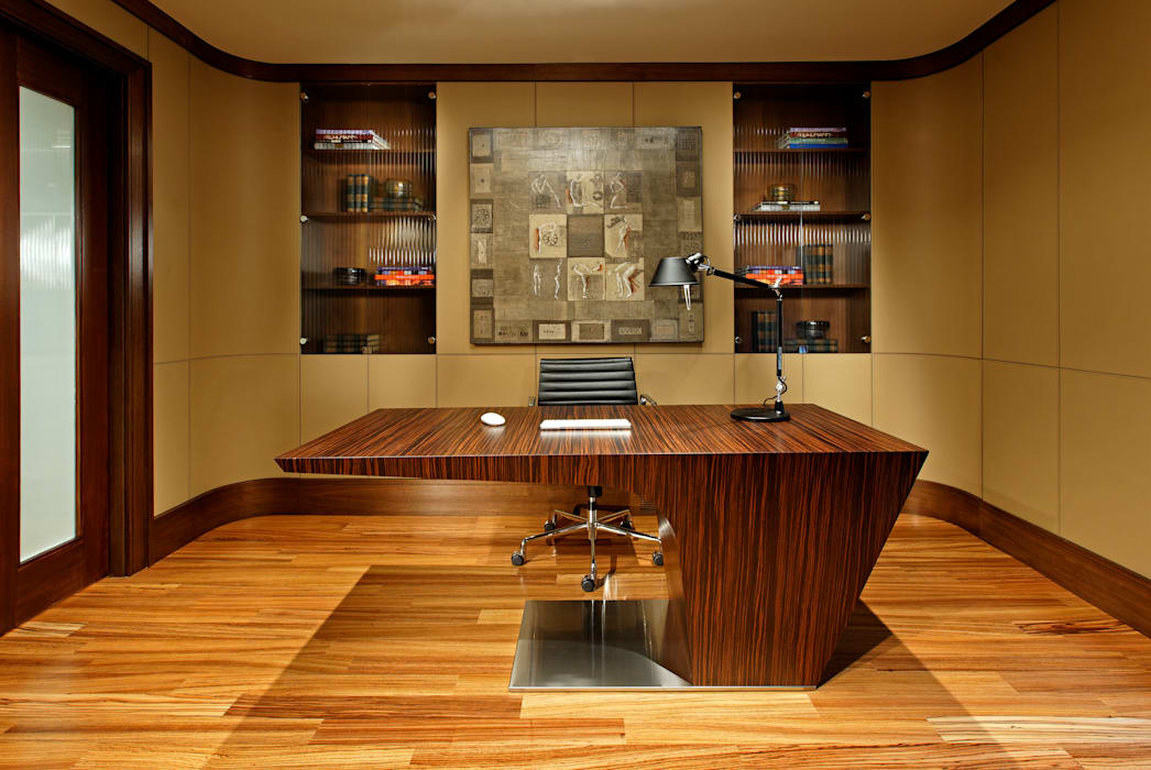 Oficinas de estilo  por Douglas Design Studio, Moderno
