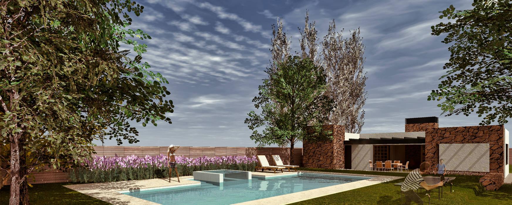 Modern houses by Juan Pablo Muttoni Modern