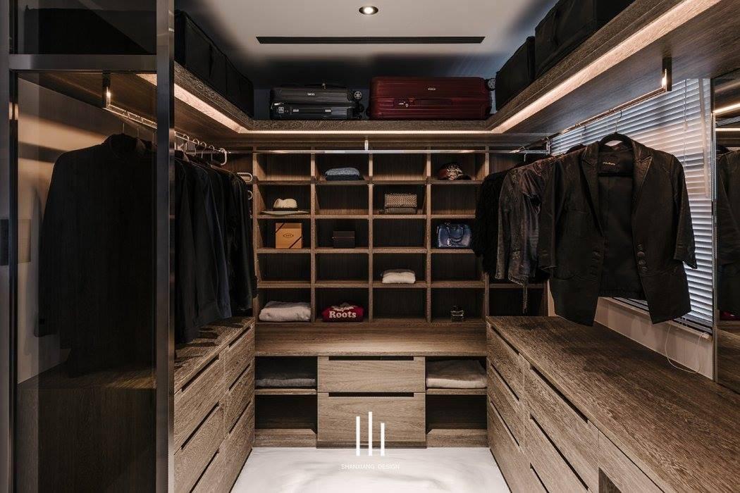 山巷室內設計 Modern dressing room