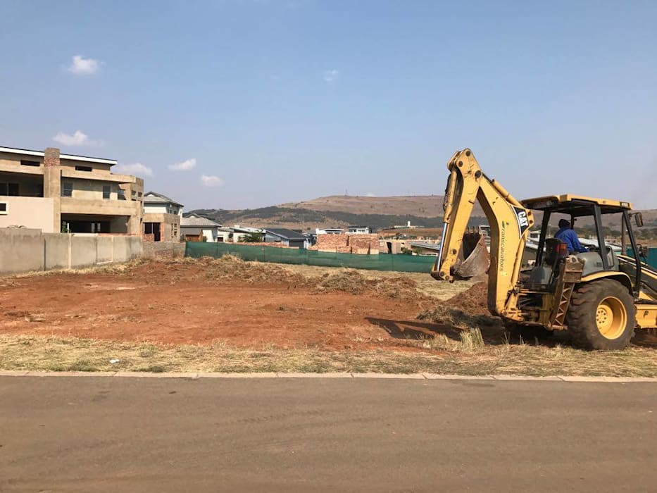 Site clearing for Powell Family Residence 根據 Seven Stars Developments