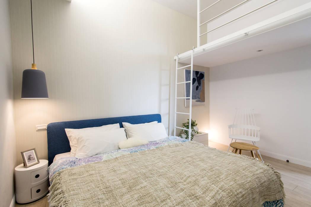 涵松樓-北歐風 宅即變空間微整形 臥室