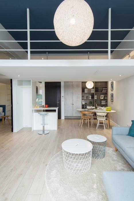 涵松樓-北歐風 宅即變空間微整形 餐廳