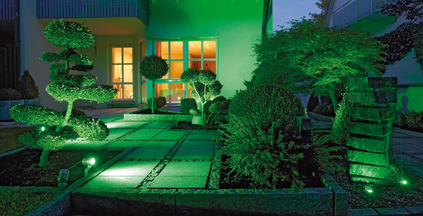 Oświetlenie Ogrodu Led Z Możliwością Zmiany Kolorów Za