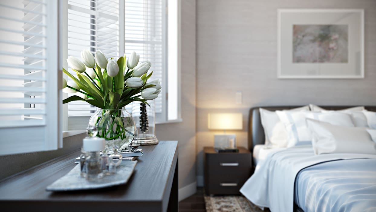 Bedroom Hampstead Design Hub Kamar Tidur Modern Grey