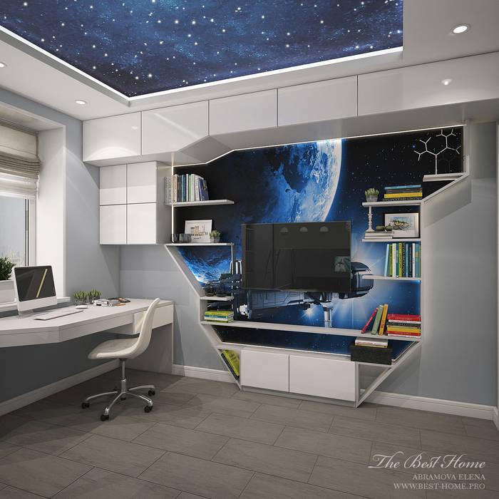Best Home Modern Kid's Room Grey