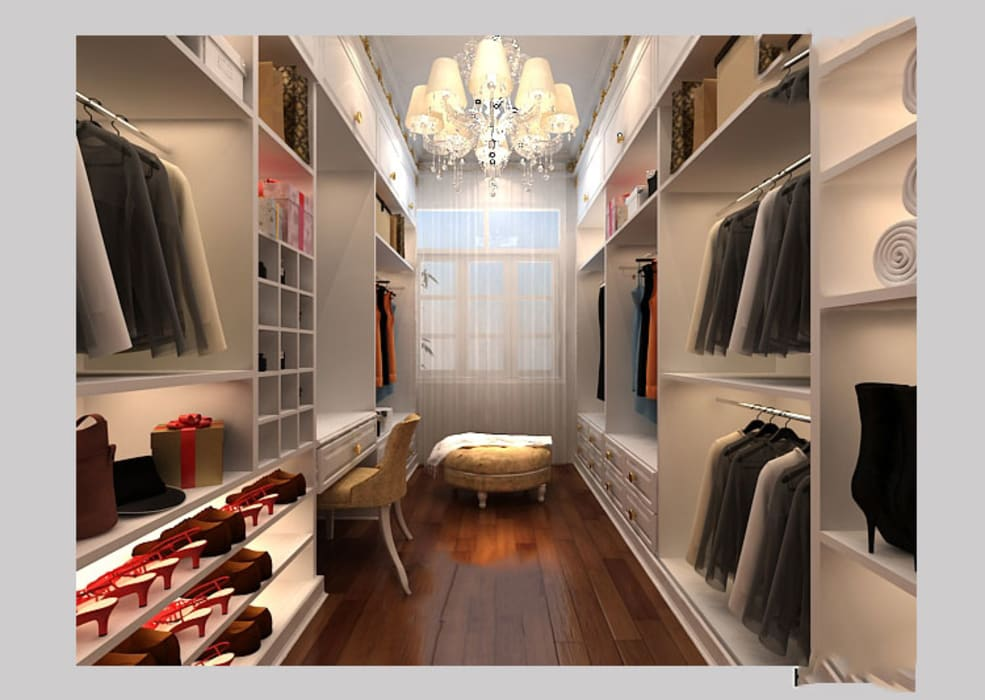 Dressing room by CÔNG TY CP XÂY DỰNG VÀ KIẾN TRÚC ĐẤT VIỆT
