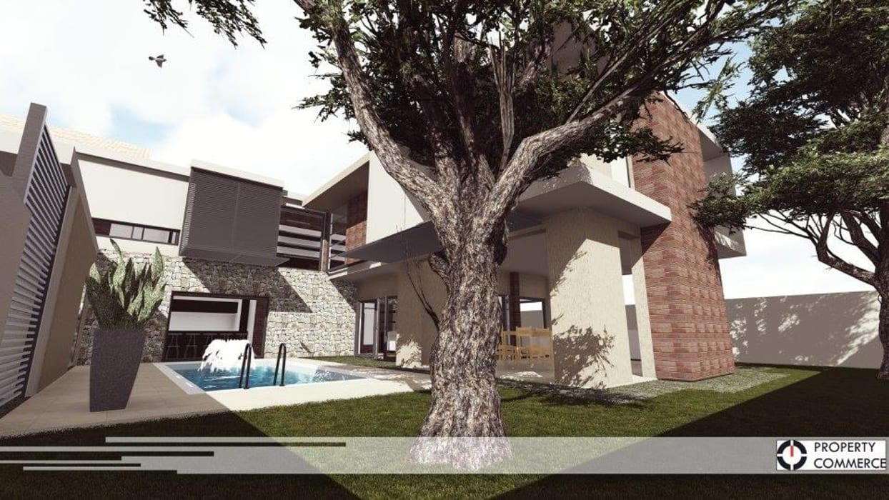 Property Commerce Architects Rumah Modern