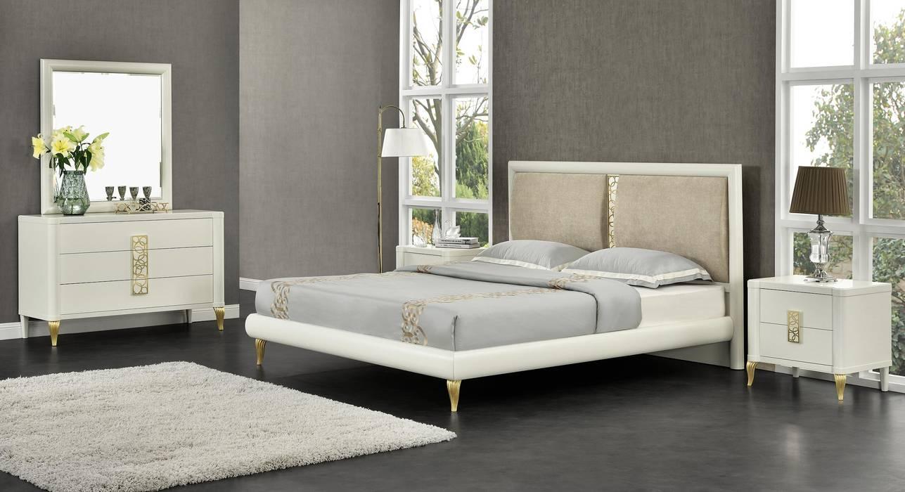 Спальня Trento: Спальни в . Автор – Neopolis Casa